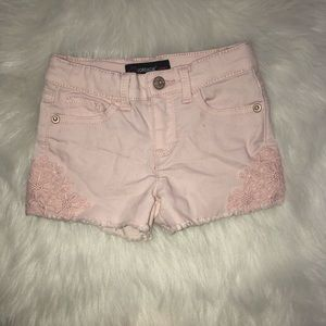 4T girls pink shorts
